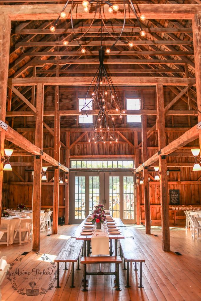 Sullyfest: A Rustic Barn Wedding in Maine: Barn at ...